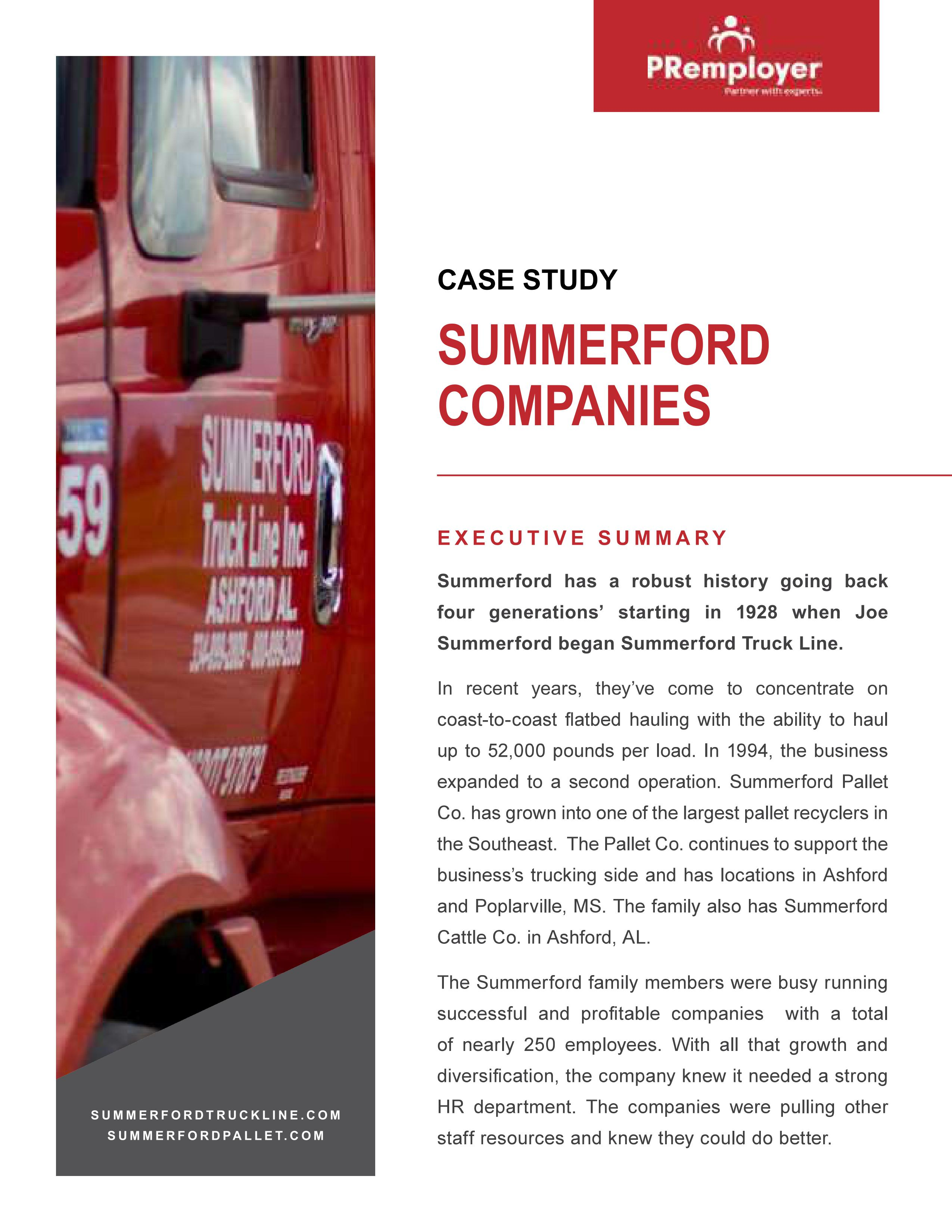 Summerford Case Study Cover photo