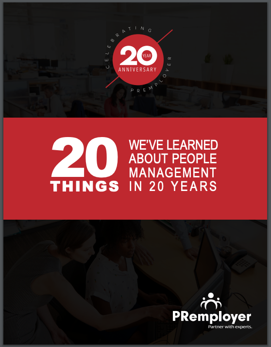 20 Things We've Learned AboutPeople Management in 20 Years